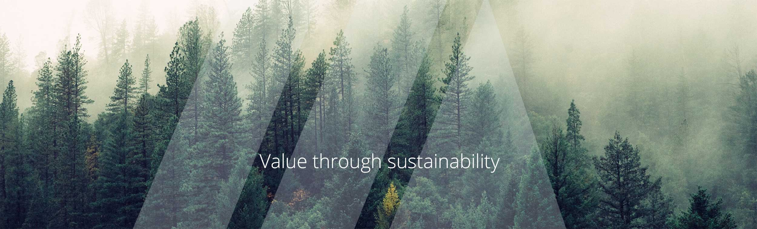 Value through sustainability
